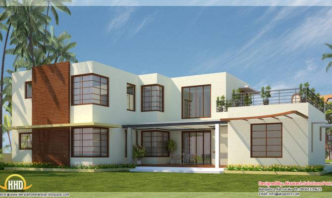 Contemporary Home Designs Kerala Design Floor Plans