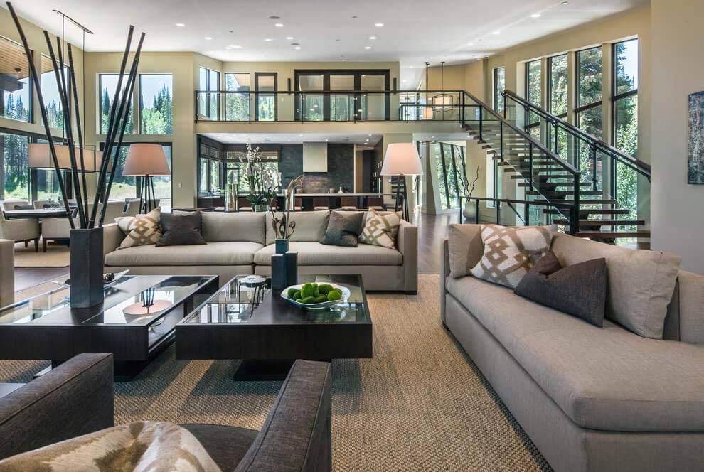 Contemporary Home Interior Design Mountain Center