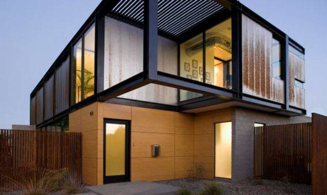 Contemporary House Arizona Industrial Chic Style