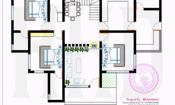 Contemporary House Floor Plan Architects