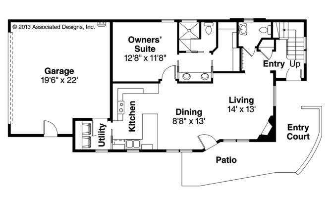 Contemporary House Plans Parkview Associated