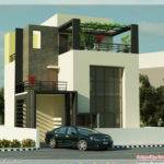 Contemporary House Renderings Kerala Home Design Floor Plans