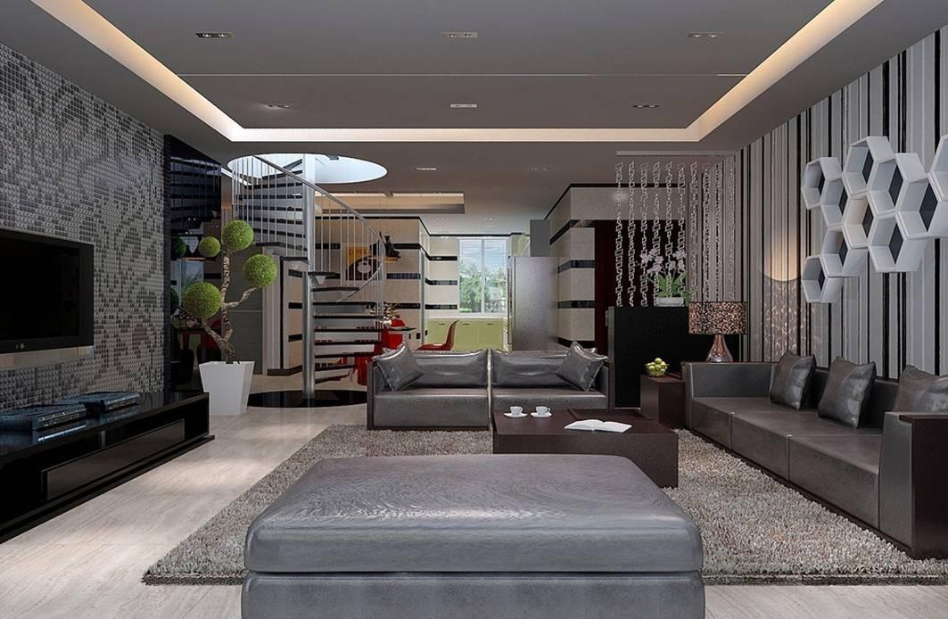 Contemporary Interior Design Living Room Home