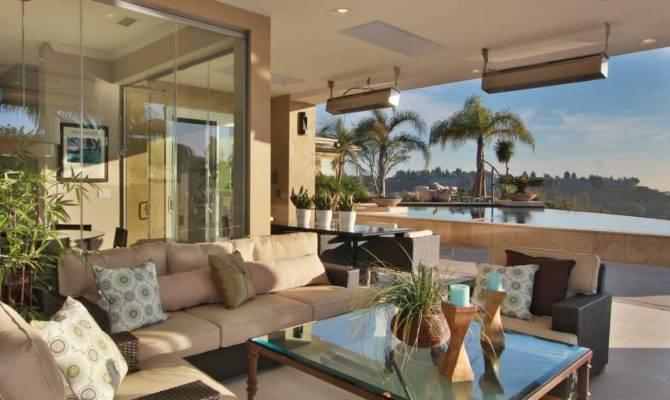 Contemporary Kitchen Indoor Outdoor Living Room Jackson Design