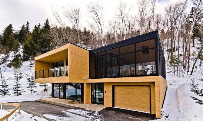 Contemporary Mountain Condominium Chalets