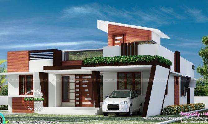 Contemporary One Floor House Kerala Home