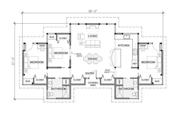 Contemporary One Story House Plans Escortsea
