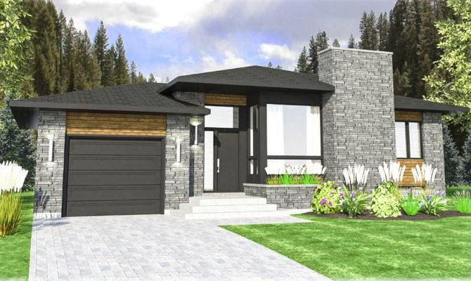 Contemporary Prairie Style House Plan