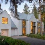 Contemporary Shingle Style House Shores Lake