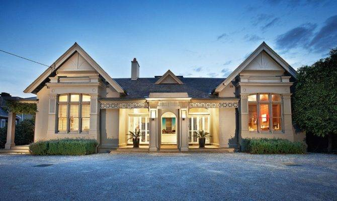 Contemporary Side Victorian House Designed Jackson