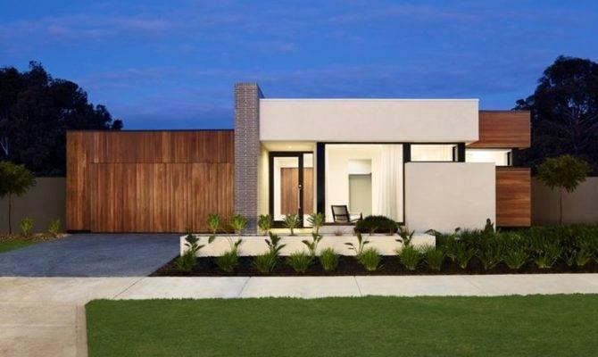 Contemporary Single Storey House Facade Google Search Design