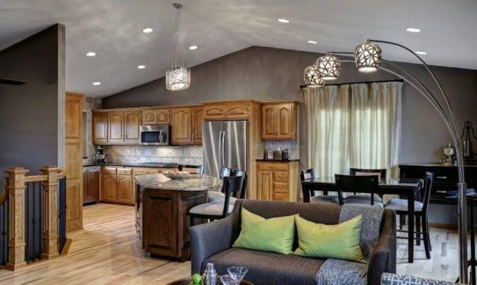 Contemporary Split Level Remodel Home Ideas Pinterest