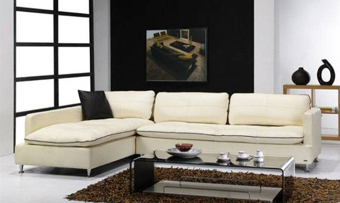 Contemporary Style Furniture Italian Leather Upholstery