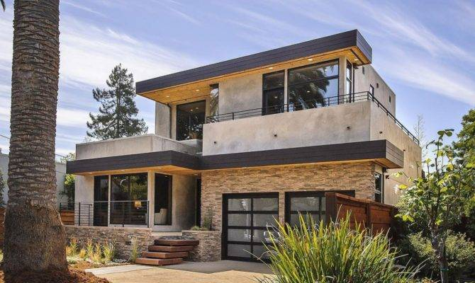 Contemporary Style Home Burlingame California Architectural