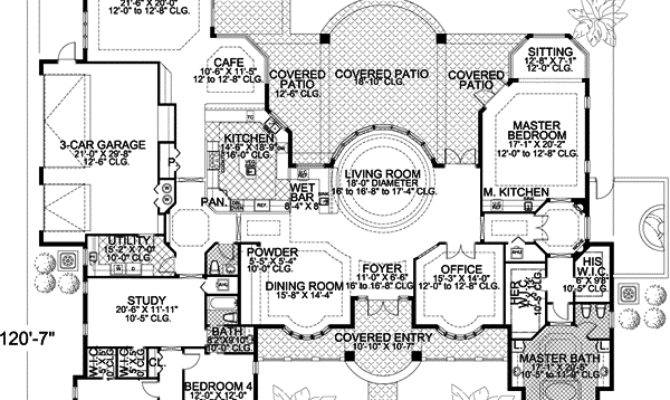 Contemporary Style House Plans Square Foot Home