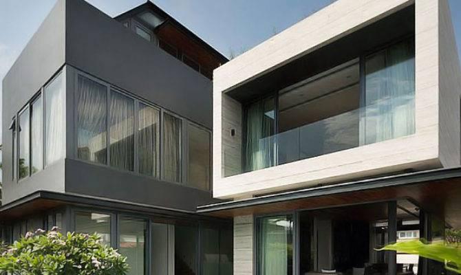 Contemporary Travertine Dream House Serangoon