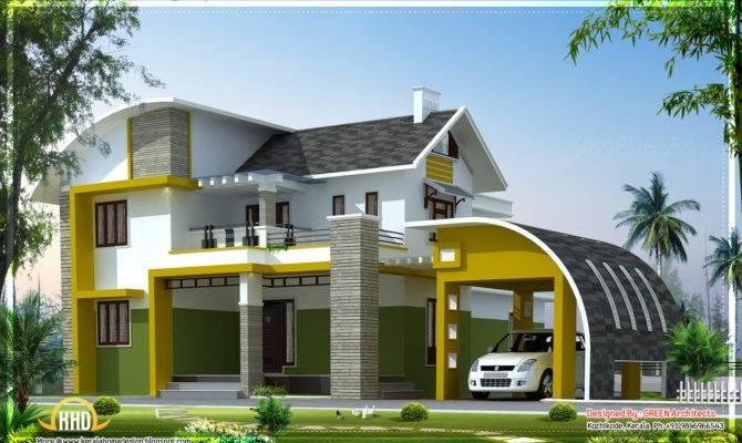 Contemporary Villa Kerala House Design Plans