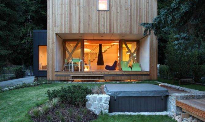 Contemporary Wooden Cottage Prodesi Small House Bliss