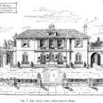 Cool Mansion Drawing Italian Spanish House