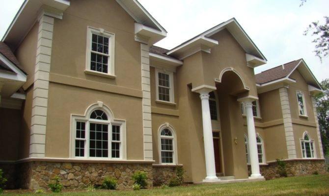 Cool Stucco House Siding Plans