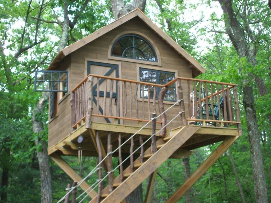 Cool Tree House Plans Unique Wooden Blueprints
