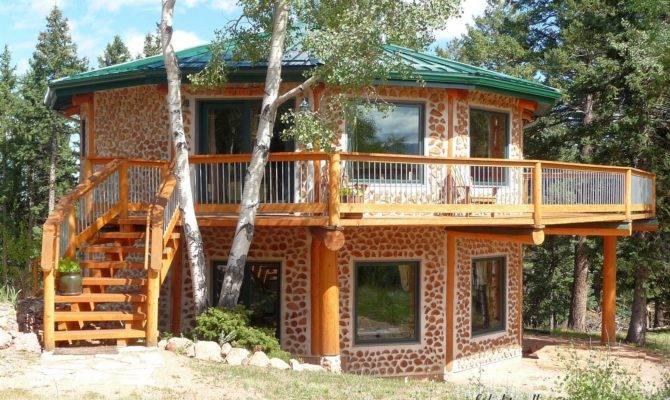 Cordwood Construction Colorado Bryan Lois