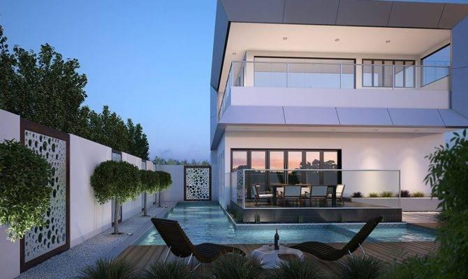 Corner Block House Design Duplex Home Builders
