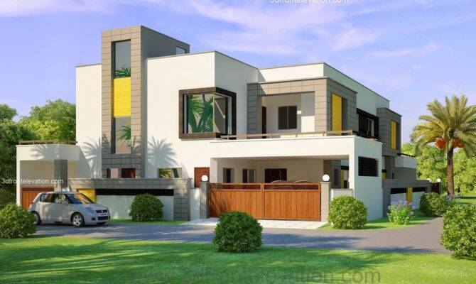 Corner Plot House Design Lahore Beautiful Kanal Modern