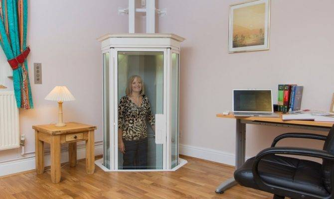 Corner Space All Need Install Lifestyle Home Elevator