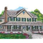 Cornfeld Traditional Farmhouse Plan House