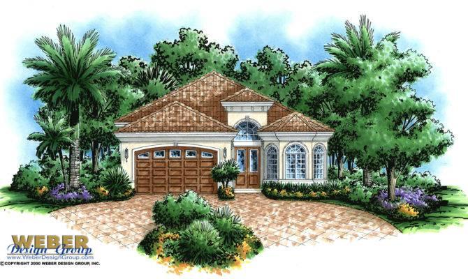 Corsica Home Plan Tuscan Weber Design Group