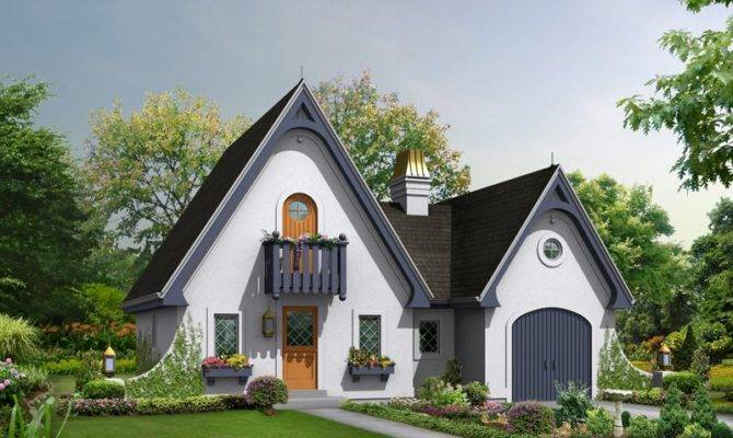 Cotswold Cottage English Country House Plan Alp Chatham