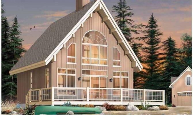 Cottage House Plan Abundant Windows Panoramic Vacation