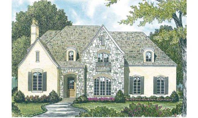 Cottage House Plan French Style Plans