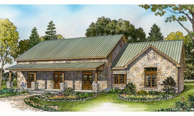 Cottage House Plan Front Home Plans More