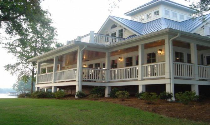 Cottage House Plans Wrap Around Porches