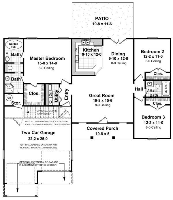 Cottage Plans Daylight Basement Over House
