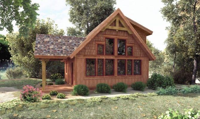Cottage Plans Timber Frame Home Deco