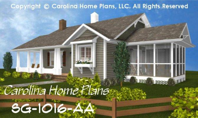 Cottage Style House Plan Affordable Small Home