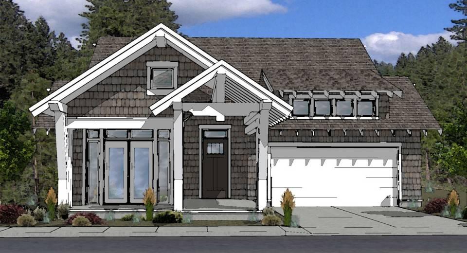 cottage style house plan bend oregon boards plans cozy
