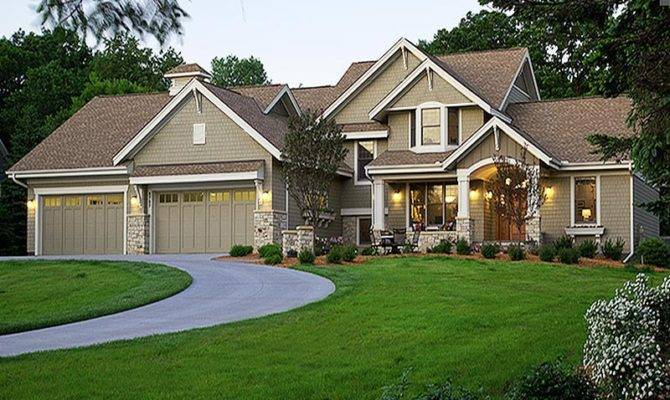 Country Craftsman Styled Custom Home Square Feet
