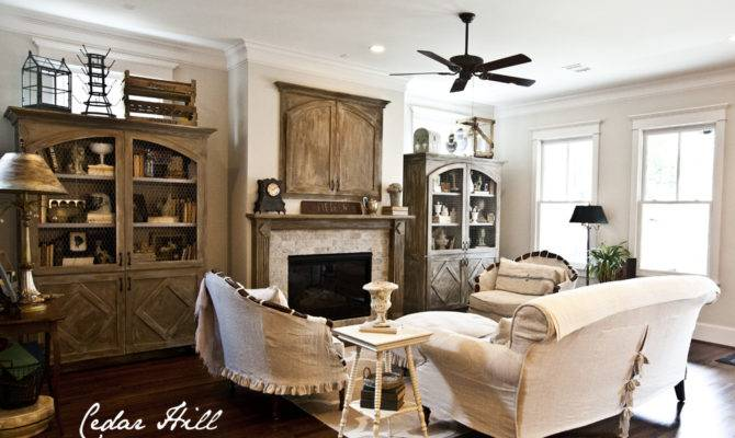Country French Farmhouse Style Home Tour Debbiedoos