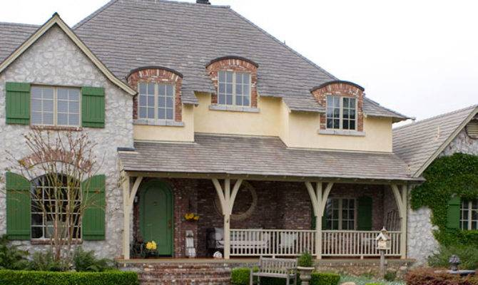 Country French Style Home Ideas