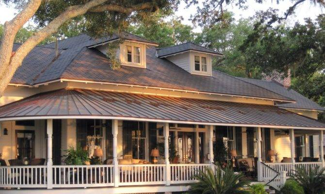 Country Home Designs Porches