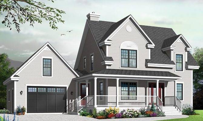 Country Home Plans Small Two Story House Plan