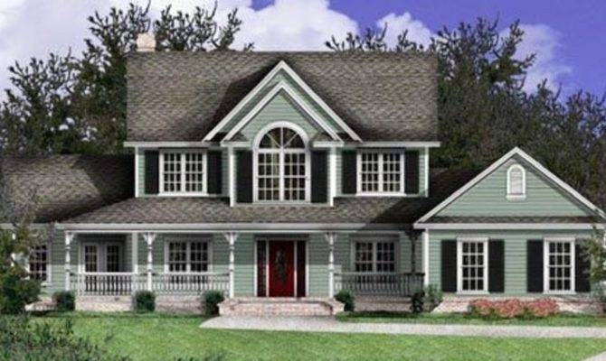 Country Home Plans Style House Designs