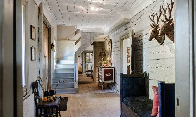 Country House Foyer Home Pinterest