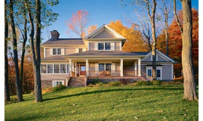 Country House Plans Front Porch