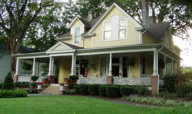 Country House Plans Porches One Story Designs