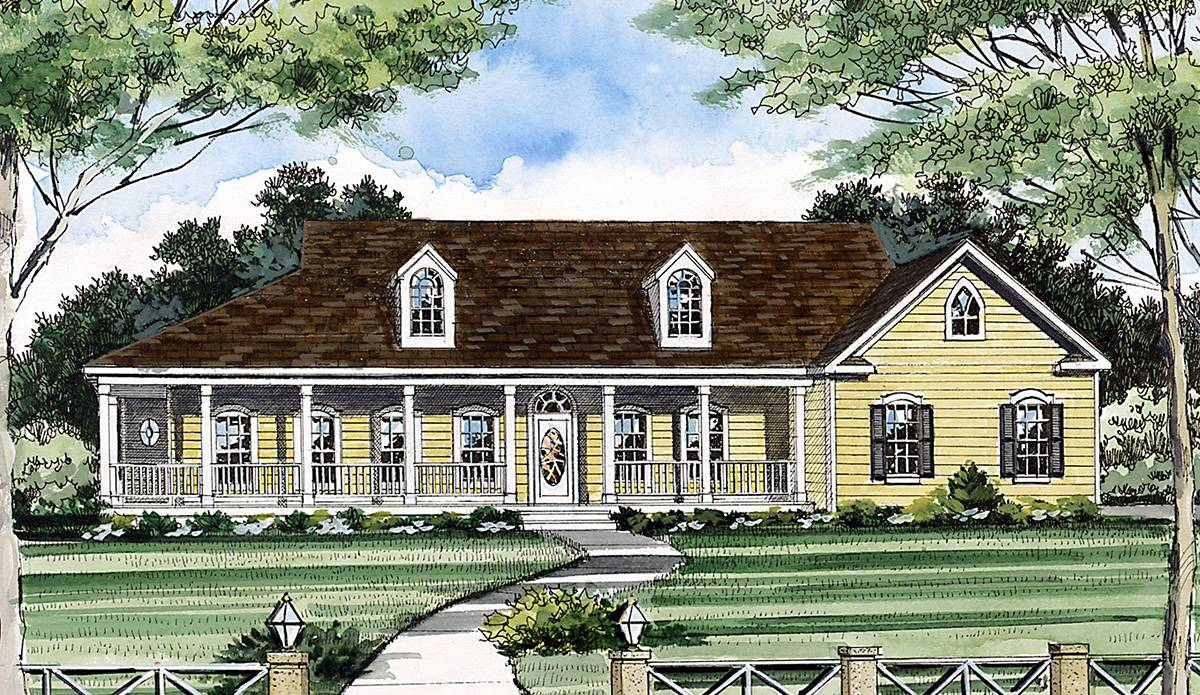 Country Living Architectural Designs House Plans